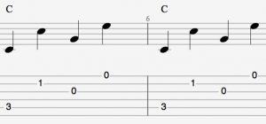 The T213 pattern in C major